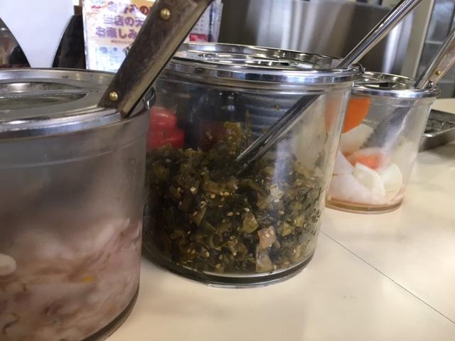 塩辛高菜容器