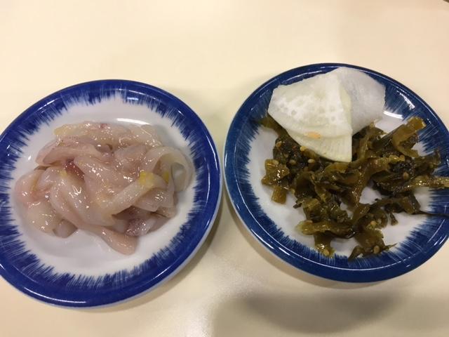 塩辛高菜皿