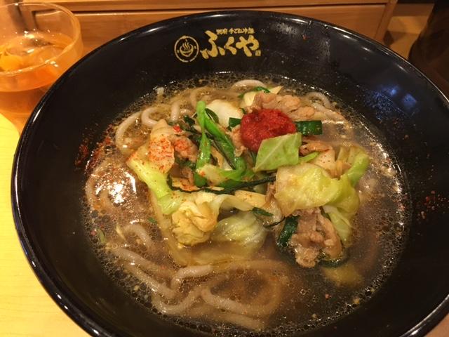 別府冷麺温麺